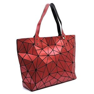 My Bag Lady Online Bags - Lucent Geometric Tote Set
